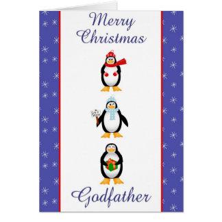 Xmas Godfather Greeting Card