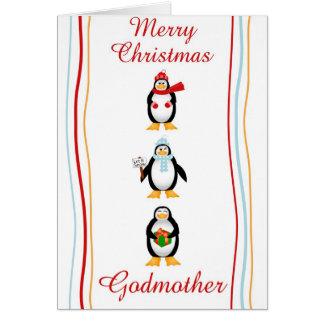 Xmas godmother card