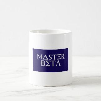 Xmas Greek Funny Master Beta Christmas Humor Gift Coffee Mug