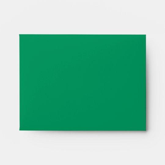 Xmas Grunge Stripes green Invitation Envelope A2