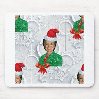 xmas Hillary clinton Mouse Pad