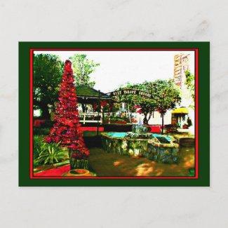 The MUSEUM Artist Series Xmas in Florida The MUSEUM jGibney postcard