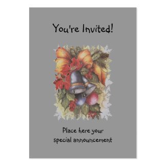 XMAS INVITATION LARGE BUSINESS CARDS (Pack OF 100)