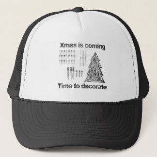 xmas is coming - time ton Deco-guesses/advises Trucker Hat
