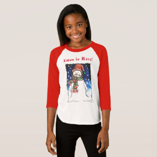 Xmas is here - Girl's T-shirt