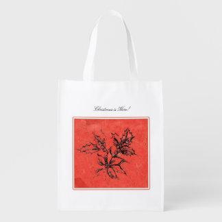 Xmas is here! -  Xmas reusable bags
