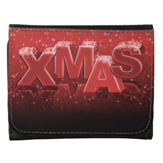 Xmas lettering wallets
