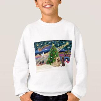 Xmas Magic-Cairn Pair-wheatn+brindle Sweatshirt