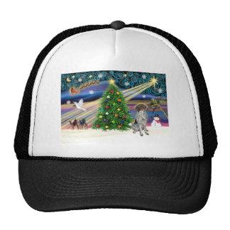 Xmas Magic-German SH Pointer Trucker Hat