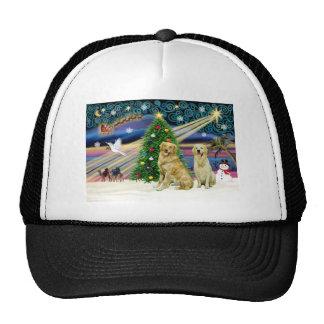 Xmas Magic-Golden-Pair Hats