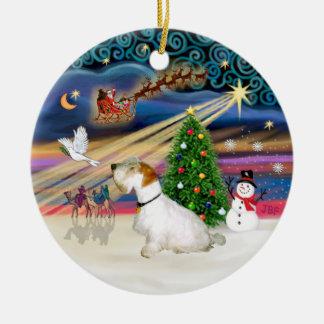 Xmas Magic - Sealyham Terrier L-sit Ornaments