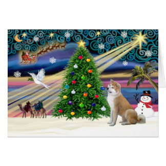 Xmas Magic-ShibaInu4 Card