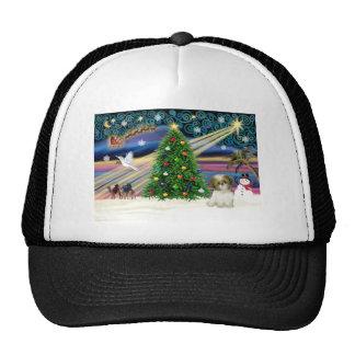 Xmas Magic-SHIH Tzu-pup Trucker Hats