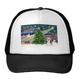 Xmas Magic-ShihTzu 4 Hat