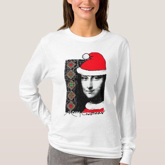 Xmas Mona Lisa jumpers and shirts