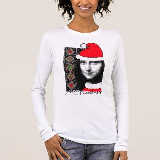 Xmas Mona Lisa women jumpers and shirts