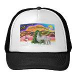 Xmas Music 2 - Llama Mama and Baby Trucker Hat