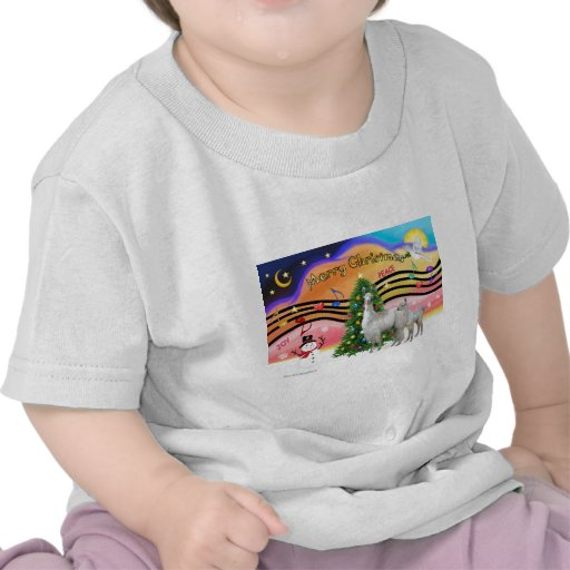 Xmas Music 2 - Llama Mama and Baby Tshirt