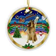 Xmas Music 4 - Belgian Tervuren Christmas Ornaments