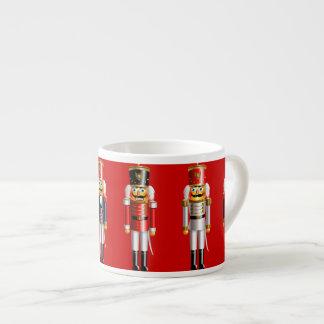 Xmas Nutcracker 6 Oz Ceramic Espresso Cup