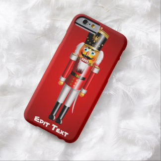 Xmas Nutcracker Barely There iPhone 6 Case