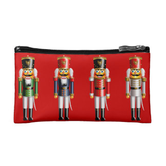 Xmas Nutcracker Cosmetic Bag