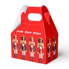 Xmas Nutcracker Favor Box