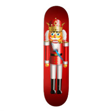 Xmas Nutcracker King Skateboard Deck