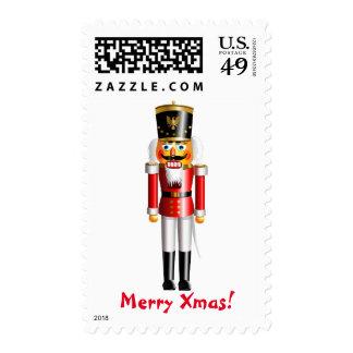 Xmas Nutcracker Soldier In Red Hussar Uniform Postage