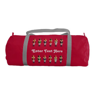 Xmas Nutcracker Soldiers Gym Bag