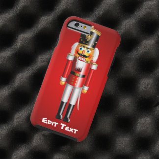 Xmas Nutcracker Tough iPhone 6 Case