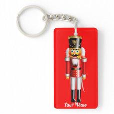 Xmas Nutcracker Toy Soldiers Keychain