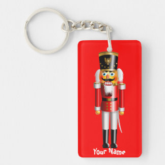 Xmas Nutcracker Toy Soldiers Keychain
