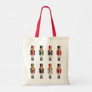 Xmas Nutcrackers Budget Tote Bag