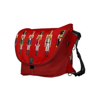 Xmas Nutcrackers Courier Bag