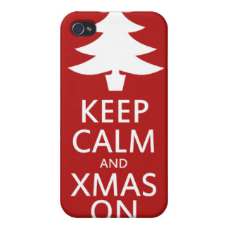 Xmas on iPhone 4 covers