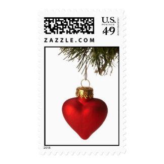xmas ornaments series07 postage stamp