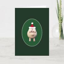 Xmas Pig Holiday Card