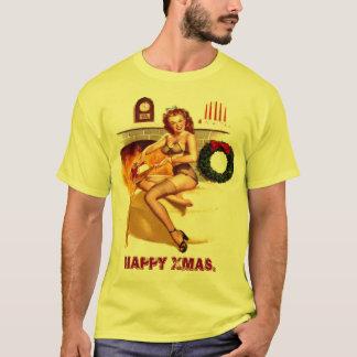 Xmas. pin up T-Shirt