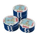 Xmas Poker Chips