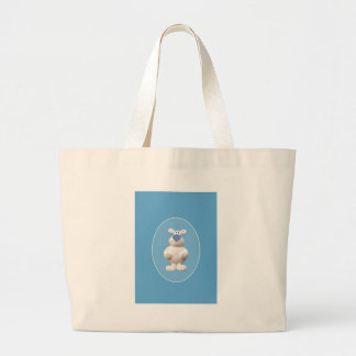 Xmas Polar Bear Large Tote Bag