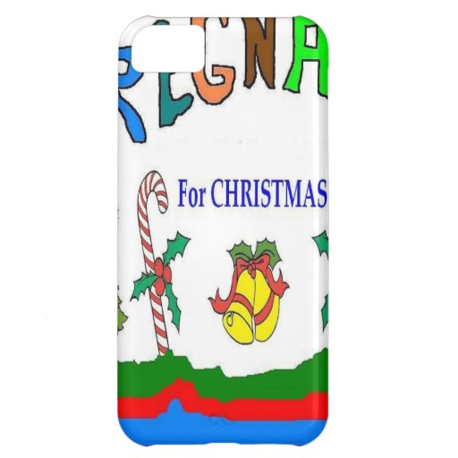 XMAS PREGNANCY COVER FOR iPhone 5C