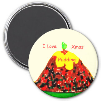 Xmas Pudding Magnet
