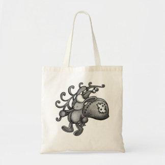 Xmas Rabbit Tote Bag