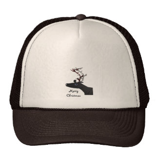 Xmas Reindeer Mesh Hats