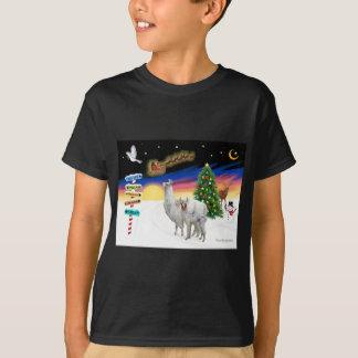 Xmas Signs - Mama Llama and Baby T-Shirt