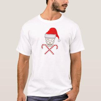 Xmas_Skull_CandyCanes.png T-Shirt