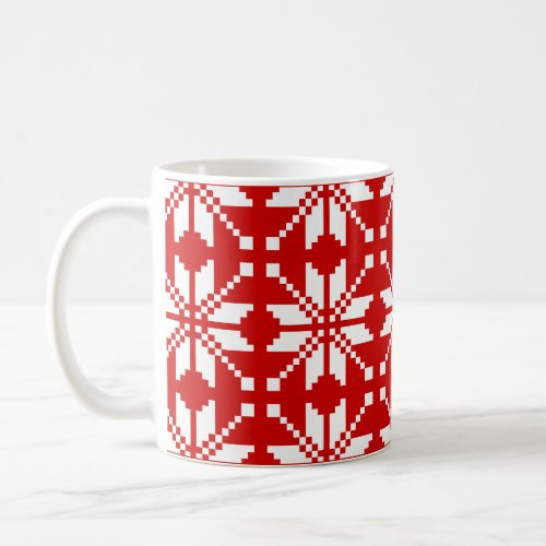 Snowflake Christmas Coffee Mug