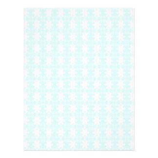 xmas snowflakes. Light Blue-white Letterhead