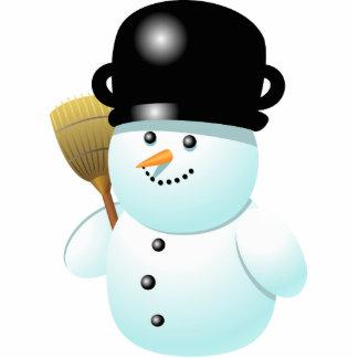 Xmas Snowman Cutout